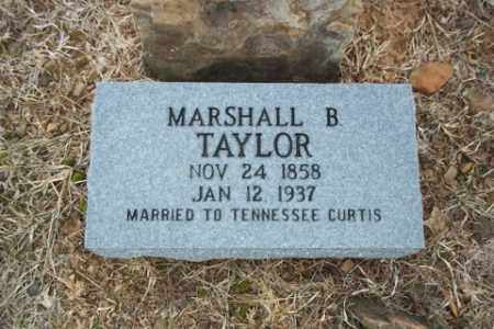 TAYLOR, MARSHALL B. - Newton County, Arkansas | MARSHALL B. TAYLOR - Arkansas Gravestone Photos