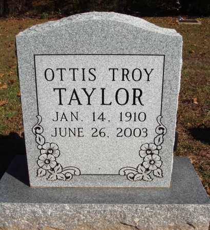 TAYLOR, OTTIS TROY - Newton County, Arkansas | OTTIS TROY TAYLOR - Arkansas Gravestone Photos