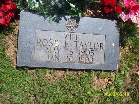 TAYLOR, ROSE F - Newton County, Arkansas | ROSE F TAYLOR - Arkansas Gravestone Photos