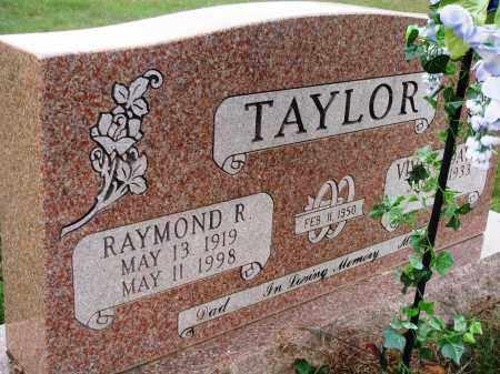 TAYLOR, RAYMOND R. - Newton County, Arkansas | RAYMOND R. TAYLOR - Arkansas Gravestone Photos
