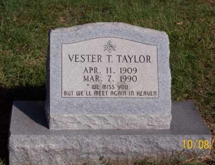 TAYLOR, VESTER T. - Newton County, Arkansas | VESTER T. TAYLOR - Arkansas Gravestone Photos