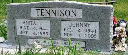 TENNISON, JOHNNY - Newton County, Arkansas | JOHNNY TENNISON - Arkansas Gravestone Photos