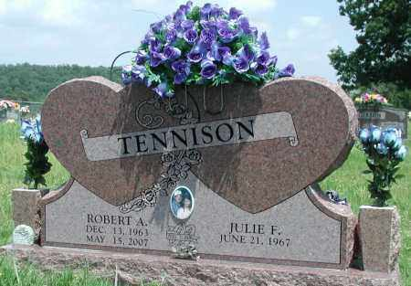 TENNISON, ROBERT A - Newton County, Arkansas | ROBERT A TENNISON - Arkansas Gravestone Photos