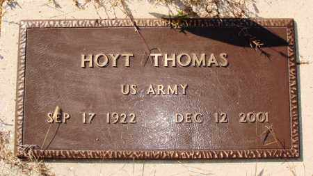 THOMAS  (VETERAN), HOYT - Newton County, Arkansas | HOYT THOMAS  (VETERAN) - Arkansas Gravestone Photos