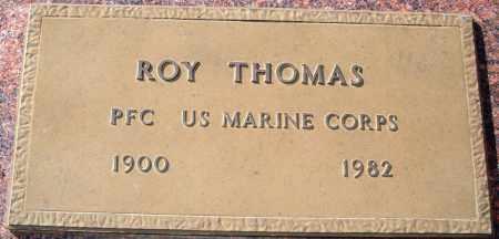 THOMAS  (VETERAN), ROY - Newton County, Arkansas | ROY THOMAS  (VETERAN) - Arkansas Gravestone Photos