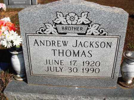 THOMAS, ANDREW JACKSON - Newton County, Arkansas | ANDREW JACKSON THOMAS - Arkansas Gravestone Photos