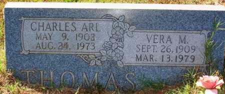 THOMAS, CHARLES ARL - Newton County, Arkansas | CHARLES ARL THOMAS - Arkansas Gravestone Photos