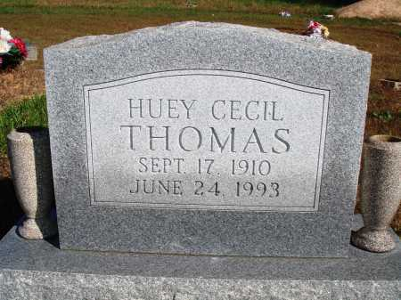 THOMAS, HUEY CECIL - Newton County, Arkansas | HUEY CECIL THOMAS - Arkansas Gravestone Photos