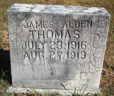 THOMAS, JAMES ALDEN - Newton County, Arkansas | JAMES ALDEN THOMAS - Arkansas Gravestone Photos