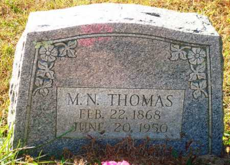 THOMAS, M. N. - Newton County, Arkansas | M. N. THOMAS - Arkansas Gravestone Photos