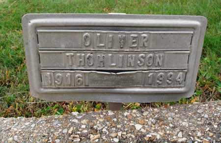 THOMLINSON, OLIVER - Newton County, Arkansas | OLIVER THOMLINSON - Arkansas Gravestone Photos