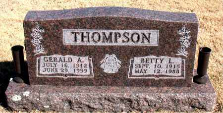 THOMPSON, GERALD A. - Newton County, Arkansas | GERALD A. THOMPSON - Arkansas Gravestone Photos