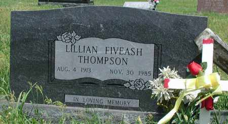 FIVEASH THOMPSON, LILLIAN - Newton County, Arkansas | LILLIAN FIVEASH THOMPSON - Arkansas Gravestone Photos