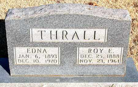 THRALL, ROY E. - Newton County, Arkansas | ROY E. THRALL - Arkansas Gravestone Photos