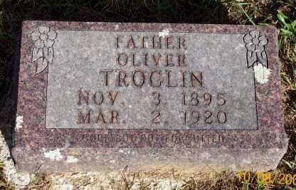 TROGLIN, OLIVER - Newton County, Arkansas   OLIVER TROGLIN - Arkansas Gravestone Photos