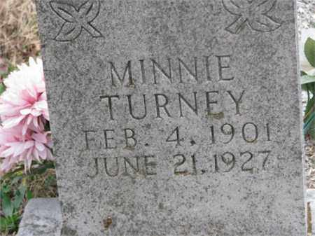 TURNEY, MINNIE - Newton County, Arkansas | MINNIE TURNEY - Arkansas Gravestone Photos