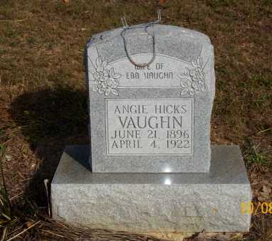 VAUGHN, ANGIE - Newton County, Arkansas | ANGIE VAUGHN - Arkansas Gravestone Photos