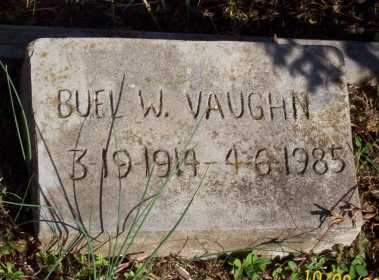VAUGHN, BUEL W. - Newton County, Arkansas | BUEL W. VAUGHN - Arkansas Gravestone Photos