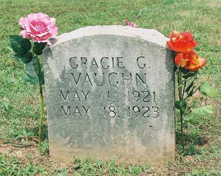 VAUGHN, GRACIE G. - Newton County, Arkansas | GRACIE G. VAUGHN - Arkansas Gravestone Photos