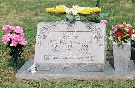 VAUGHN, MARY S. - Newton County, Arkansas | MARY S. VAUGHN - Arkansas Gravestone Photos