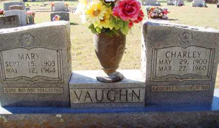 RAMSEY VAUGHN, MARY - Newton County, Arkansas | MARY RAMSEY VAUGHN - Arkansas Gravestone Photos