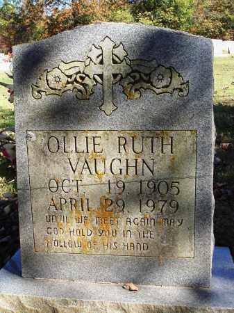 HICKS VAUGHN, OLLIE RUTH - Newton County, Arkansas | OLLIE RUTH HICKS VAUGHN - Arkansas Gravestone Photos