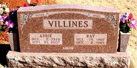 VILLINES, ARBIE - Newton County, Arkansas | ARBIE VILLINES - Arkansas Gravestone Photos