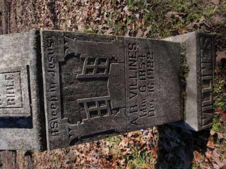 VILLINES, A. B. - Newton County, Arkansas | A. B. VILLINES - Arkansas Gravestone Photos