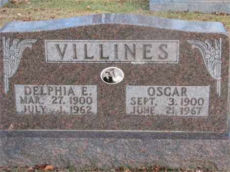 VILLINES, OSCAR - Newton County, Arkansas | OSCAR VILLINES - Arkansas Gravestone Photos