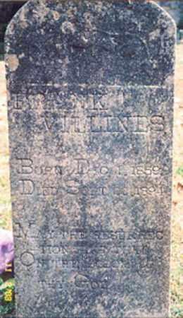 VILLINES, FRANK - Newton County, Arkansas | FRANK VILLINES - Arkansas Gravestone Photos