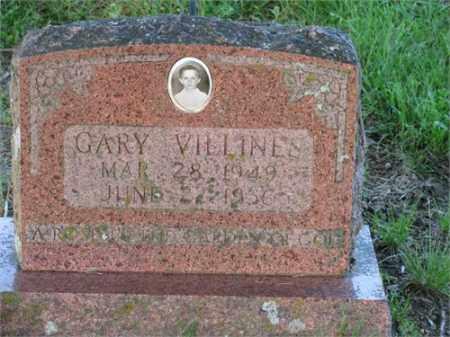 VILLINES, GARY - Newton County, Arkansas | GARY VILLINES - Arkansas Gravestone Photos