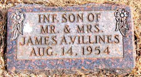 VILLINES, INFANT SON - Newton County, Arkansas | INFANT SON VILLINES - Arkansas Gravestone Photos
