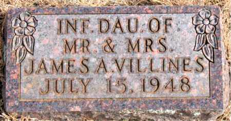 VILLINES, INFANT DAUGHTER - Newton County, Arkansas | INFANT DAUGHTER VILLINES - Arkansas Gravestone Photos