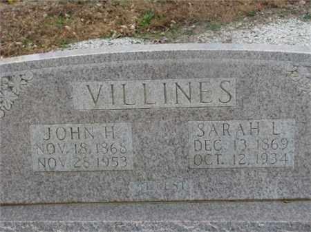 VILLINES, SARAH L. - Newton County, Arkansas | SARAH L. VILLINES - Arkansas Gravestone Photos