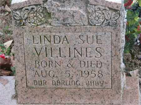 VILLINES, LINDA SUE - Newton County, Arkansas | LINDA SUE VILLINES - Arkansas Gravestone Photos