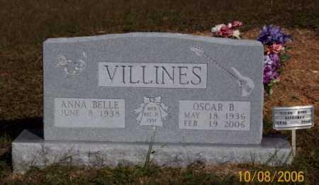VILLINES, OSCAR BURL - Newton County, Arkansas | OSCAR BURL VILLINES - Arkansas Gravestone Photos