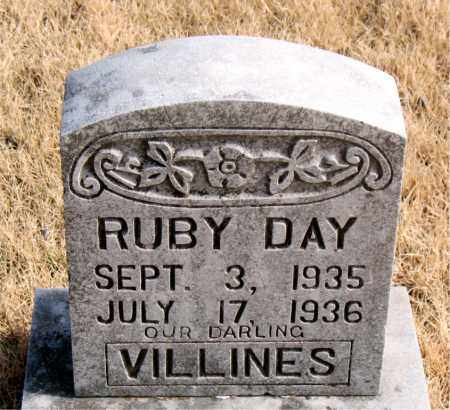 VILLINES, RUBY DAY - Newton County, Arkansas | RUBY DAY VILLINES - Arkansas Gravestone Photos