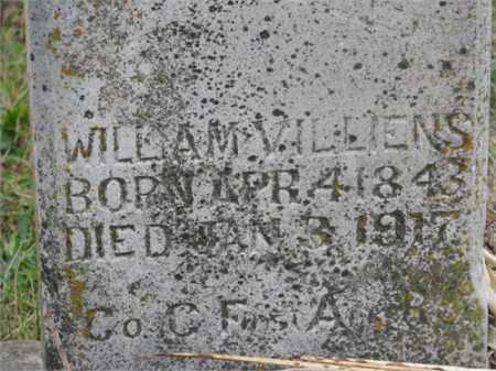VILLIENS (VETERAN), WILLIAM - Newton County, Arkansas | WILLIAM VILLIENS (VETERAN) - Arkansas Gravestone Photos