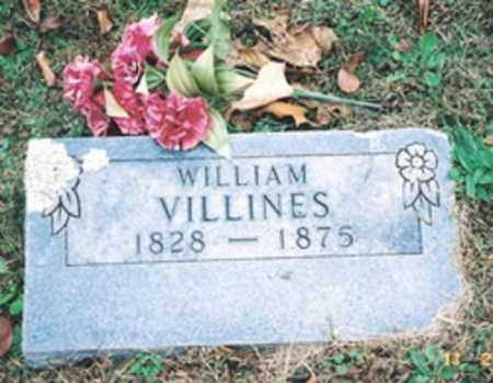 VILLINES, WILLIAM - Newton County, Arkansas | WILLIAM VILLINES - Arkansas Gravestone Photos