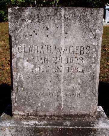 WAGERS, CLARA B. - Newton County, Arkansas | CLARA B. WAGERS - Arkansas Gravestone Photos