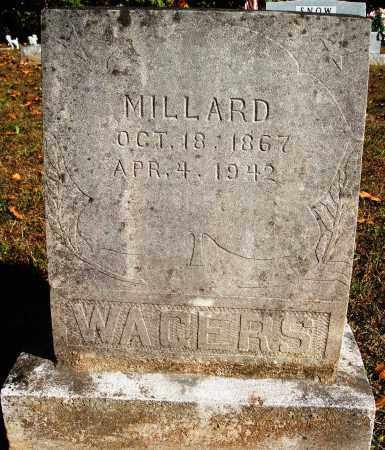 WAGERS, MILLARD - Newton County, Arkansas | MILLARD WAGERS - Arkansas Gravestone Photos