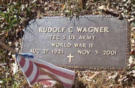 WAGNER  (VETERAN WWII), RUDOLF C - Newton County, Arkansas | RUDOLF C WAGNER  (VETERAN WWII) - Arkansas Gravestone Photos
