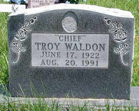 "WALDON, TROY ""CHIEF"" - Newton County, Arkansas 