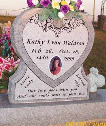 WALDRON, KATHY LYNN - Newton County, Arkansas | KATHY LYNN WALDRON - Arkansas Gravestone Photos