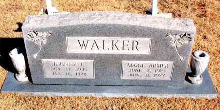WALKER, JOHNNY F. - Newton County, Arkansas | JOHNNY F. WALKER - Arkansas Gravestone Photos