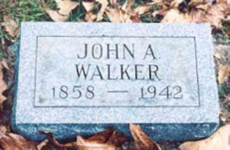 WALKER, JOHN A. - Newton County, Arkansas | JOHN A. WALKER - Arkansas Gravestone Photos