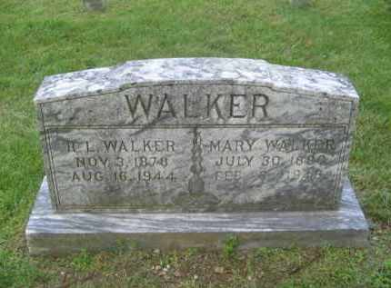 WALKER, MARY - Newton County, Arkansas | MARY WALKER - Arkansas Gravestone Photos