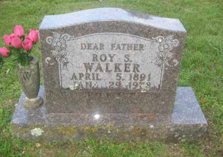 WALKER, ROY S. - Newton County, Arkansas | ROY S. WALKER - Arkansas Gravestone Photos