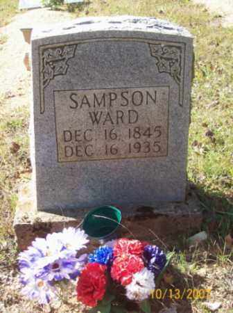 WARD, SAMPSON - Newton County, Arkansas | SAMPSON WARD - Arkansas Gravestone Photos