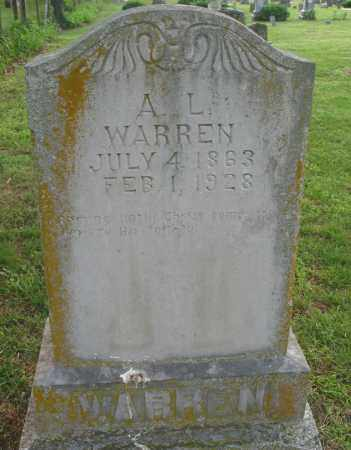 WARREN, ABRAHAM LINCOLN - Newton County, Arkansas | ABRAHAM LINCOLN WARREN - Arkansas Gravestone Photos
